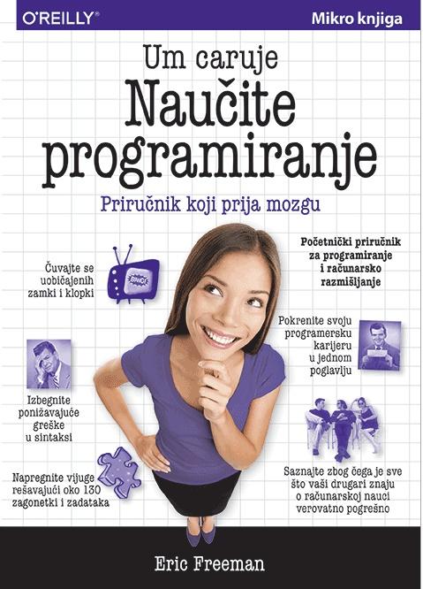 Naučite programiranje, priručnik koji prija mozgu