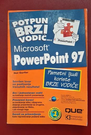 PowerPoint 97 — Potpun brzi vodič