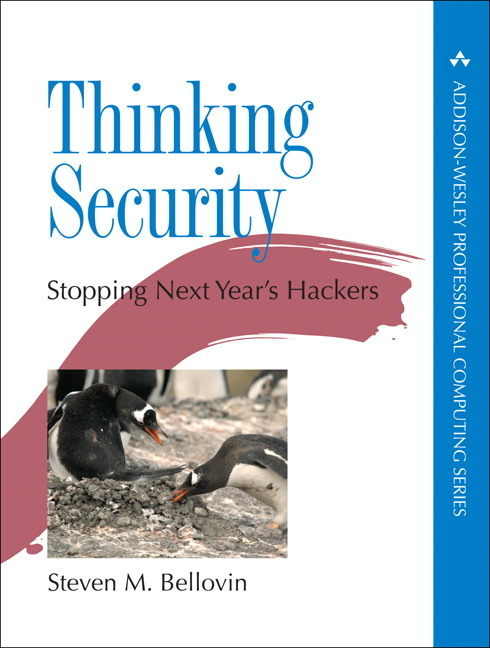 Thinking Security Stopping Hackers