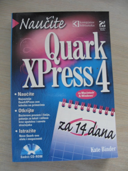 QuarkXpress 4 za 14 dana