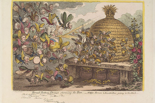 758px-broad-bottom_drones_storming_the_hive_-_wasps_hornets__bumble_bees_joining_in_the_attack_by_james_gillray-100652244-primary.idge