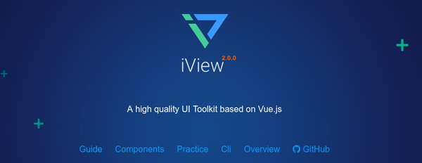 Iview-ui-toolkit