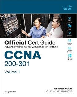 Zvanični vodič za sertifikat CCNA 200-301 Knjiga 1
