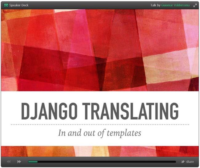 django-translating
