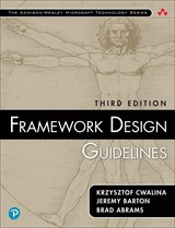 Framework Design Guidelines: Conventions, Idioms, and Patterns for Reusable .NET Libraries, 3rd Edit