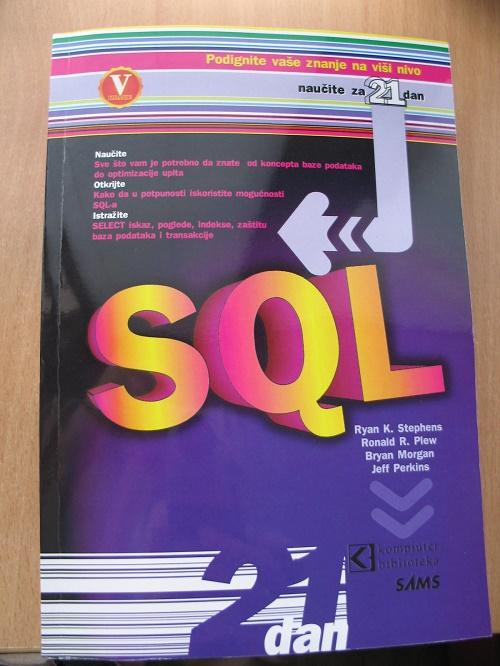 SQL naučite za 21 dan