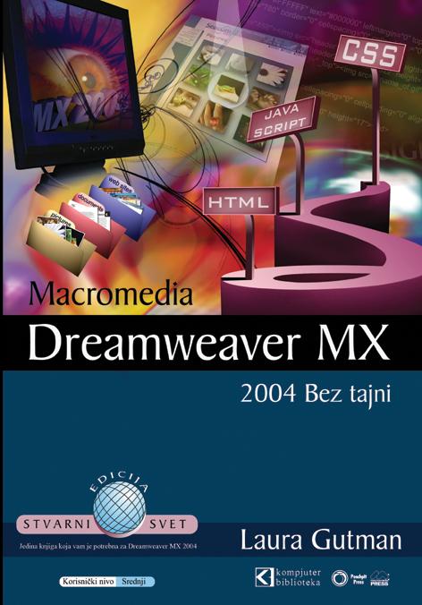 Dreamweaver MX 2004 - bez tajni