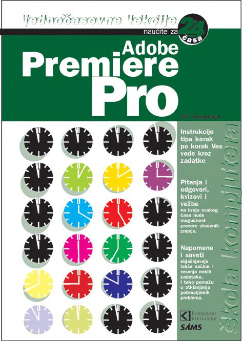 Premiere Pro - Naučite za 24 časa