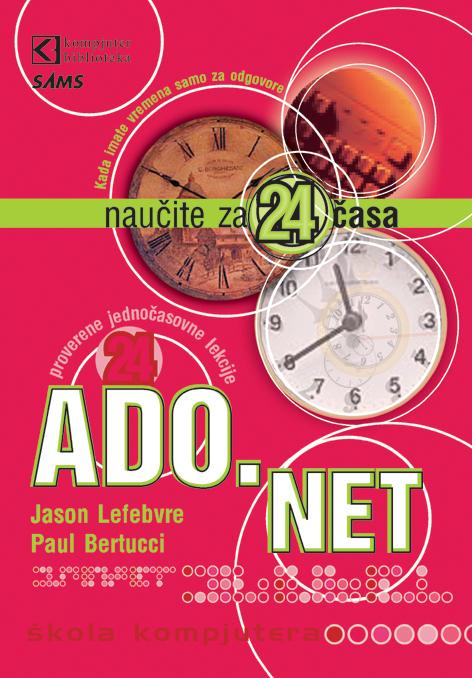ADO.NET, naučite za 24 časa
