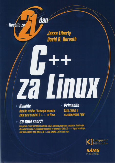 C++ za Linux - Naučite za 21 dan