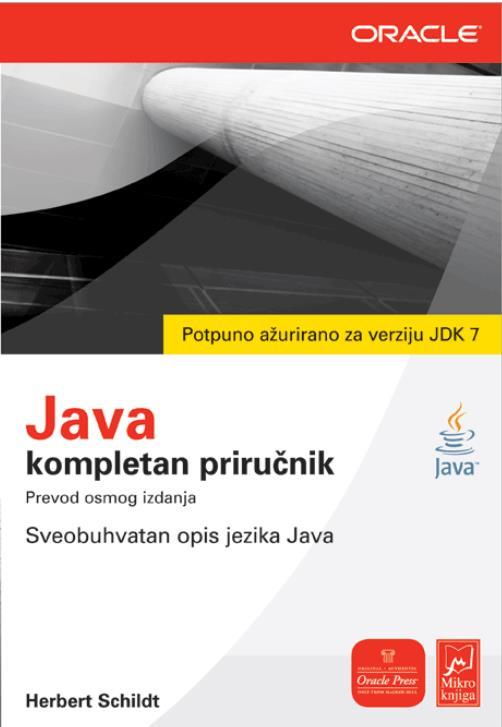 Java JDK 7 - Kompletan priručnik