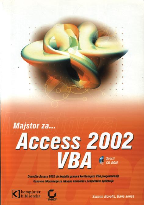 Access 2002 – VBA priručnik