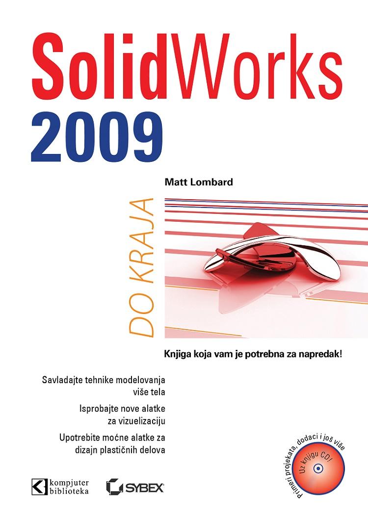 SolidWorks 2009 do kraja (CD)