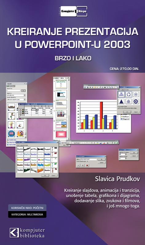 Kreiranje prezentacija u PowerPointu 2003 brzo i lako