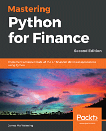 Mastering Python for Finance - Second Edition