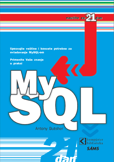 MySQL - Naučite za 21 dan