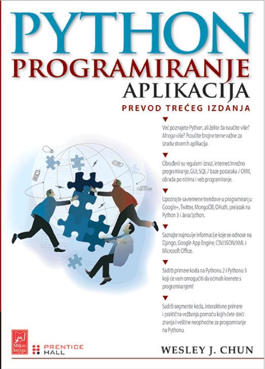Python: programiranje aplikacija prevod 3. izdanja