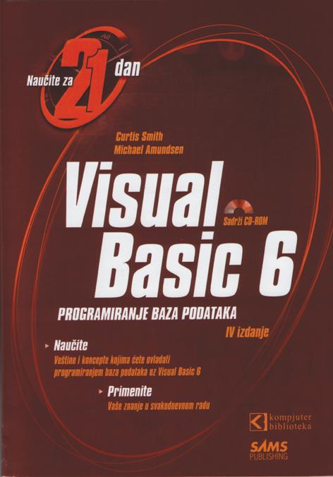 Visual Basic 6 – Programiranje baza podataka za 21 dan