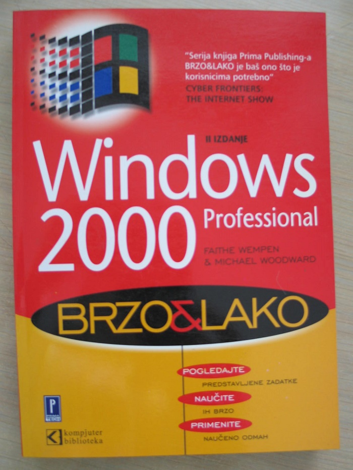 Windows 2000 Professional  – Brzo i lako